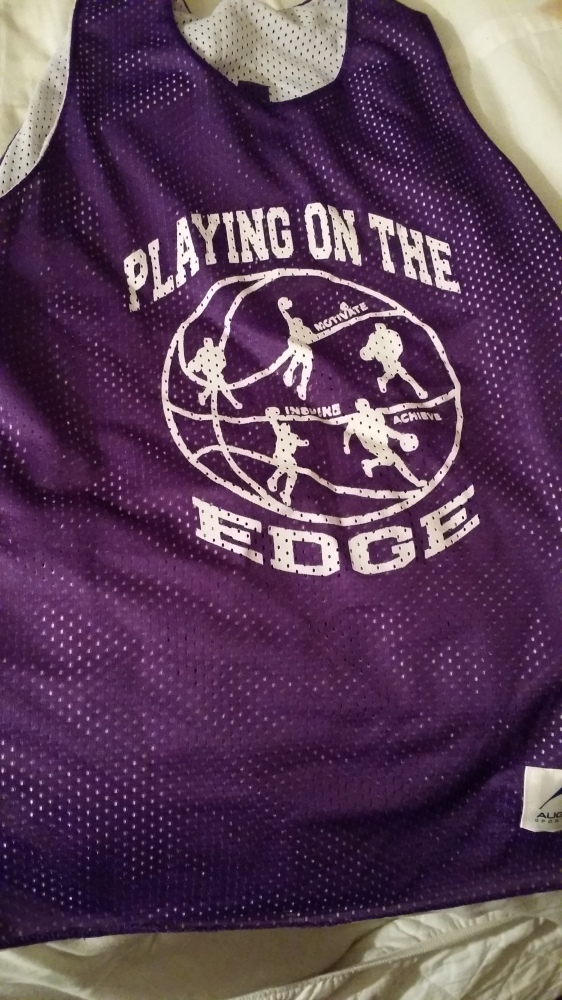 Playing On The Edge  Basketball Team Gear (3/6)