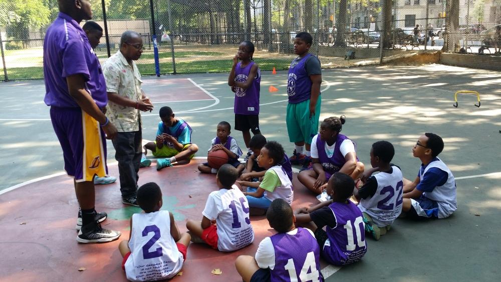 Summer Basketball Camp - 2014 (1/4)
